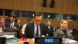 "73rd UNGA - Thematic debate, cluster on ""conventional weapons"" (October 29, (...)"