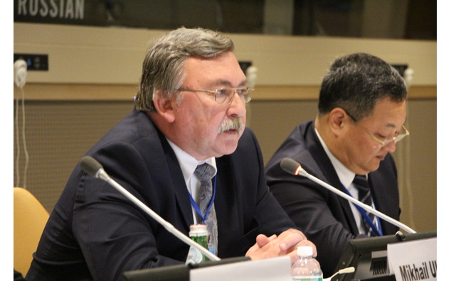 Mr. Mikhail I. Uliyanov, Director, Department for non-proliferation and arms control, Ministry of Foreign Affairs of the Russian Federation